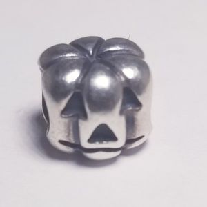 Authentic Pandora Halloween Pumpkin Charm Bead